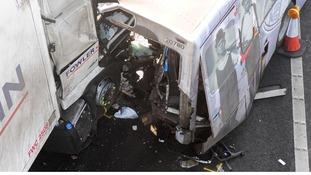 M5 crash