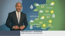 Wales weather: Pleasant with sunny spells