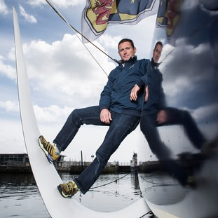 Edmond de Rothschild skipper Sébastien Josse - IMOCA 60.