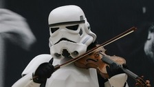 May the Forth be with you - Church organist turns wedding march into Star Wars theme