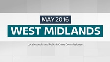 Which councils have had elections in the West Midlands?
