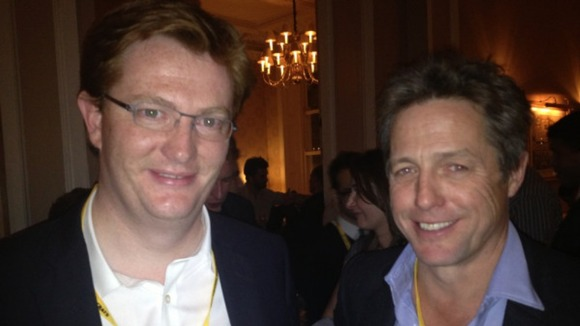 Hugh Grant and Danny Alexander