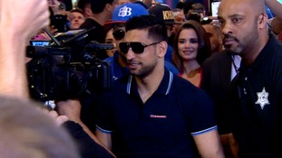 Exclusive: Amir Khan says he has the 'belief and talent' to to beat Saul Alvarez in Las Vegas