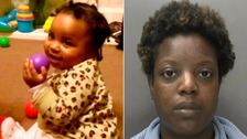 Foster mother jailed for life for murdering toddler