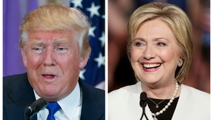 Trump and Clinton look to be going head to head