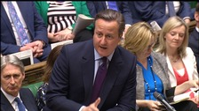David Cameron made the announcement at PMQs on Wednesday
