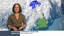 Amanda has the latest weather