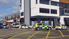 Armed police incident in Hartlepool