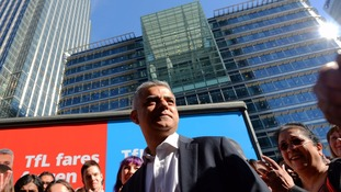 Sadiq Khan apologises for using derogatory racial slur during TV interview