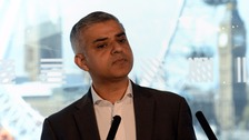 Sadiq Khan apologises for using racial slur during interview
