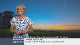 Wales Weather: All quiet overnight, but still chilly!