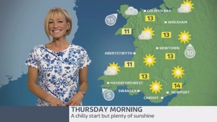 Wales Weather: A lovely day ahead!