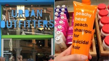 Urban Outfitters withdraws 'suicide' shampoo