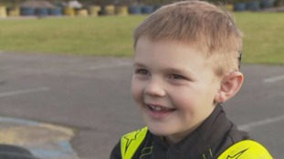 Welsh schoolboy hopes to become first deaf F1 driver