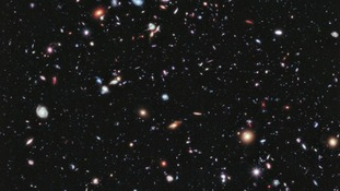 The Hubble Space Telescope images look into the depths of the night sky.