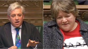 John Bercow gave Therese Coffey a telling off today.