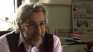 Can Dundar, editor of opposition newspaper Cumhuriyet