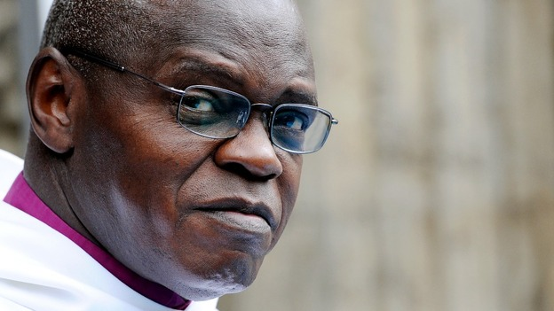 The Archbishop of York, Dr John Sentamu, 63,
