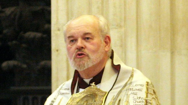 The Bishop of London, the Rt Rev Richard Chartres, 65