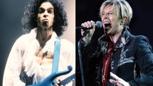 Prince and David Bowie honoured at Glastonbury