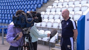 McGreal talks to the media this afternoon.