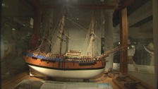 Model of Captain Cook's Endeavour