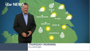 A dry and bright Thursday ahead