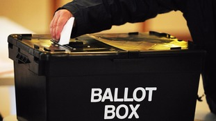 Polling stations are open until 10pm