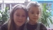 Appeal after two young sisters go missing