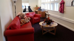 Children's hospice re-opens after fire