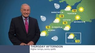 Sunny spells and high temperatures