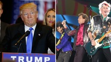 Rolling Stones ask Trump to stop playing their music