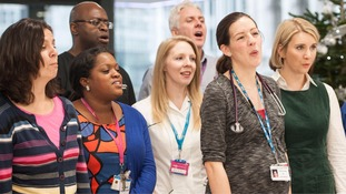NHS Choir who beat Justin Bieber to number one sign Hollywood film deal