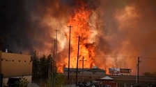 State of emergency declared amid huge Canadian wildfire