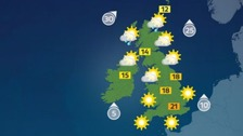 Weather: Dry, warm and sunny for many parts of the UK
