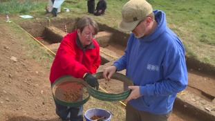 Volunteers help to uncover medieval past of village