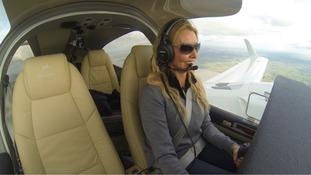 Carol Vorderman plans 'dream' solo flight around the world for TV show