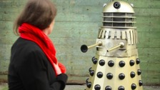Coffee shop discount for Dalek voice customers