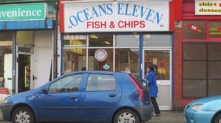 Man died close to chip shop in Leigh