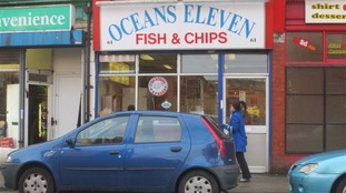 Man dies after violent attack outside chip shop in Leigh