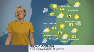 Wales Weather: A beautiful end to the week!