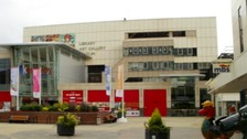 Central Library in John Frost Square, Newport