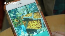 Farmer's daughter develops app to share leftover food