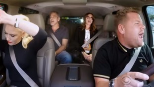 Gwen Stefani, George Clooney and Julia Roberts join James Corden for his Carpool Karaoke.