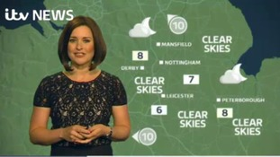 East Midlands Weather: Clear and windy night