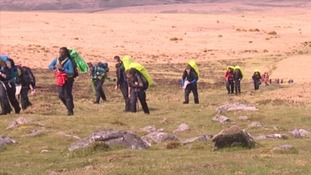 Thousands gather for the annual Ten Tors challenge