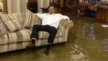 Flooded premises in Stockton