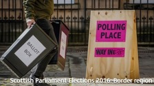 Scottish Parliament Elections 2016:  Results from the border region
