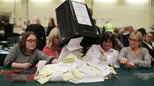 Early results come in after 'Super Thursday' elections