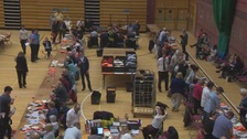 Voter turnout figures coming in for Welsh constituencies